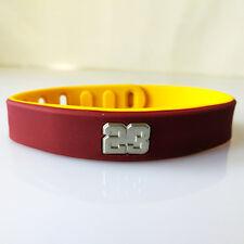 Basketball Souvenirs Bracelet 23# LEBRON JAMES Wristband Strap adjustable Ring