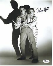 Dolores Hart Hand Signed 8x10 Photo Rare Pose With Elvis Presley Jsa