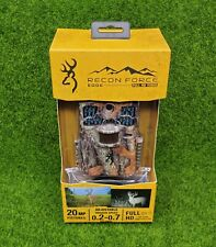Browning Recon Force Edge Security Trail Game HD Video Camera 20MP - BTC-7E