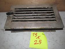 Kamingitter Lüftungsgitter 11,5 x 23 cm Luftschacht Gitter f Bauelemente Kachelofen XL
