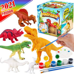 FUNZBO Kids Crafts and Arts Set Painting Kit - Dinosaurs Toys Art and Craft Supp