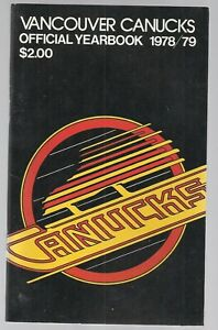 1978-79 Vancouver Canucks Hockey Yearbook