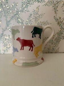 Emma Bridgewater Break Polka Cows Half Pint Mug