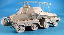 Milicast G038 1/76 Resin WWII German SdKfz 238(8 Rad) Armoured Car with Aeriel