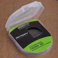 pangshi 72mm Slim Fader ND Filter ND2 to ND400 Wide Neutral Density Adjustable