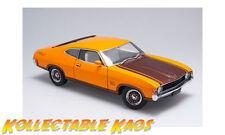 1:18 Biante - 1974 Ford XA Falcon Superbird - Yellow Fire With Walnut Glow NEW