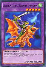 Alligator's Sword Dragon Common Limited Edition Yugioh Card LDK2-ENJ43