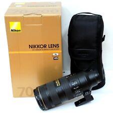 Nikon NIKKOR AF-S 70-200mm F/2.8G ED VRII Lens - never used, in box