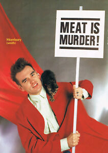 Reproduction, Morrissey - Meat Is Murder Poster, The Smiths