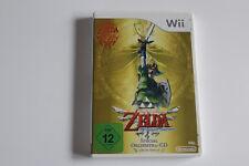 Nintendo Wii WiiU Spiel The Legend of Zelda: Skyward Sword mit Orchestra-CD