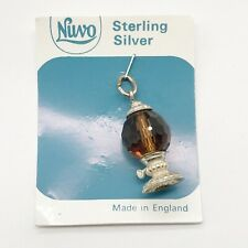 VINTAGE SOLID STERLING SILVER NUVO GUMBALL MACHINE  BRACELET CHARM PENDANT