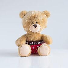 Cute Bear, 'I Fancy The Pants Off You' Teddy Bear in Shorts (M2E1)