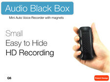 KINGNEED Mini Auto Voice Recorder/spy box with Strong Magnet Under Driver Seat