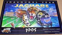 JACKSONVILLE JAGUARS 1995 INAUGURAL Year POSTER