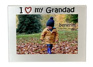 I Love My Grandad Photo Picture Frame Fathers Day Birthdays Christmas Gift Idea