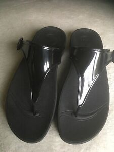 Fitflop Super Jelly Black Size 5  - Worn Once