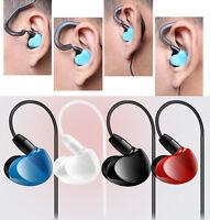 3.5mm Super Bass Stereo Headphone In-Ear Earphone Headset For iPhone Samsung LG