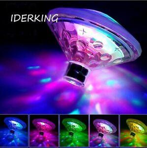 Poolleuchte LED Schwimmende Licht RGB Farbwechsel Teich Licht Garten Lampe 3LEDs