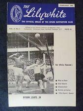 Lilywhite Magazine- Vol. 14, No. 6 , Feb 1964, Dyson Leaps In (Exc condition)