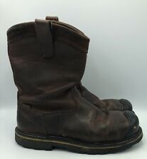 Keen Dallas Steel Toe Wellington Pull On Leather Boots Mens Size 10