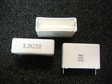 EVOX (MMK) Metallized Polyester Capacitor 3.3uF 250V 10%  **NEW** 3/PKG