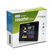 Station météo sans fil avec capteur externe et alimentation GreenBlue GB142