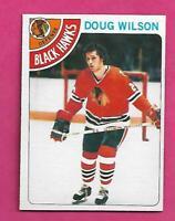 1978-79 OPC # 168 HAWKS DOUG WILSON ROOKIE NRMT CARD (INV# C9670)
