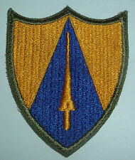 AMERICAN PATCHES-ORIGINAL WW2 65th CAVALRY DIVISION SNOWY BACK