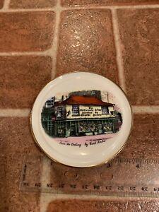 Rosina Bone China Dickens The Old Curiosity Shop Mini Plate Saucer England