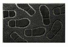 "Patio  Foot Print Rubber Pin Doormat 24"" x 36"""