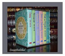 Jane Austen Collection New Hardcover Deluxe Sealed Boxed Gift Set Collectible
