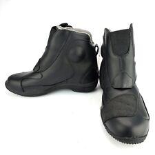 TourMaster Response SC Road Boots Black Leather Short-Cut Size Men's Size 7