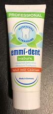 Emmi-dent Ultrasound Toothpaste - Nature with Calcium (no fluoride) 2.5 oz