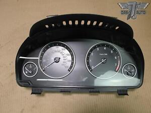 🥇2011 BMW F10 535 Xi INSTRUMENT CLUSTER SPEEDOMETER GAUGE 9255587 OEM