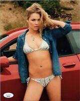 "~ RONDA ROUSEY Authentic Hand-Signed ""SEXY BIKINI - WWE"" 8x10 Photo (JSA COA) ~"