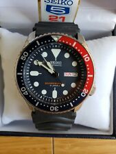 Seiko SKX009J1 sport Automatic Diver's Black Mens  Japan version