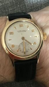 Ulysse Nardin 9k Gold Vintage Watch