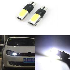 2PCS T10 W5W 194 168 6W LED Light Car Fault COB Canbus Lamps Wedge White Neu