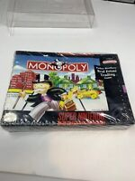Monopoly (Super Nintendo Entertainment System, 1992) STILL SEALED IN BOX W/ Tear