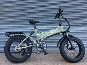 MATE X Electric Bike / Camoflage / 14Ah / 750W / Free Delivery + 1Yr Warranty
