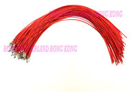 2.54mm KF2510 Connector Female Crimped Contact Pin Cable 300mm RED Color x 30