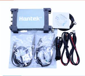 Hantek 6204BD 4CH USB PC Portable Oscilloscope 200MHz and 25MHz Signal Generator