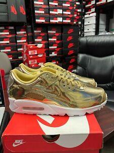 Nike Air Max 90 Metallic Gold 2020 (W) CQ6639 700