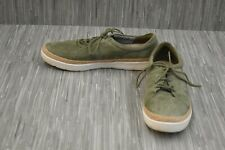 Clarks Marie Mist Suede Casual Sneakers, Women's Size 10M, Olive