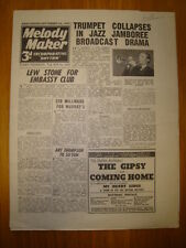MELODY MAKER 1945 #636 JAZZ SWING MUSIC LEW STONE