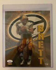 Brett Farve Autographed / Signed Green Bay Packers 8x10 Photo W / JSA CERT.  HOT