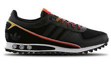 Para Hombre Adidas Originals La II Zapatillas Zapatos Negro Con Cordones UK 9 nuevo último