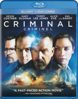 Criminal (Kevin Costner) (Blu-ray + DVD) (Blu- New Blu