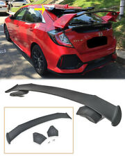 Spoon Style Rear Roof Wing Spoiler For 16-Up Honda Civic Hatchback FK4 FK7