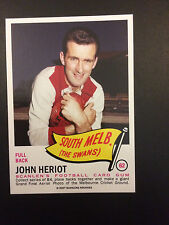 Scanlens Archives 1966 Pennant John Herriot South Melbourne Swans #62